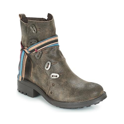 Felmini NOUMERAT Marron  - Chaussures Boot Femme