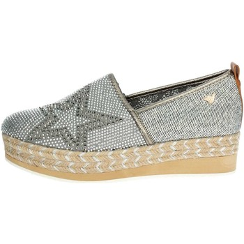 Chaussures Femme Slips on Shaka SL181510 W0004 Slip-on Chaussures Femme Gris Gris
