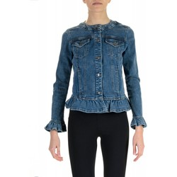 Vêtements Femme Vestes en jean My Twin By Twin Set GIUBBINO DENIM bleu