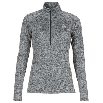 Vêtements Femme T-shirts manches longues Under Armour TECH 1/2 ZIP TWIST Noir