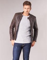 Vêtements Homme Vestes en cuir / synthétiques Oakwood AGENCY Marron