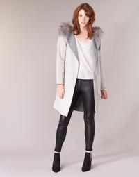 Vêtements Femme Manteaux Oakwood YALE BI Beige / Gris
