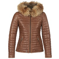 Vêtements Femme Doudounes Oakwood HAPPY Cognac