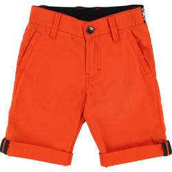 Vêtements Garçon Shorts / Bermudas HUGO Bermuda Hugo Boss Cadet - Ref. J24539-412 Orange