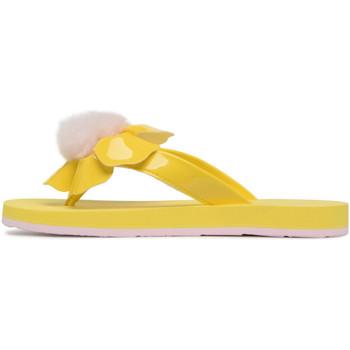 Chaussures Femme Tongs UGG Tong  Poppy - Ref. W-POPPY-LYLL Jaune
