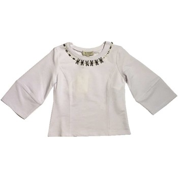 Vêtements Fille T-shirts manches longues Twin Set GS823A sweat-shirt fille blanc blanc