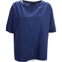 Vêtements Femme T-shirts manches courtes Woolrich WWCAM0659 T-shirt Femme bleu bleu