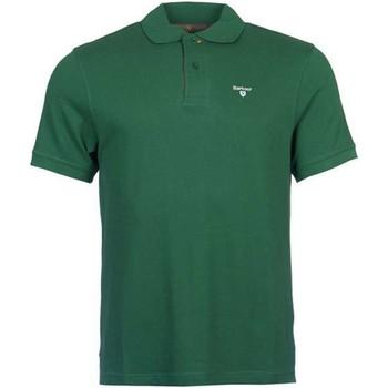 Vêtements Homme Polos manches courtes Barbour BAPOL0119 polo Homme Vert Vert