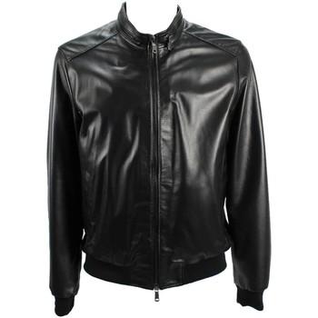 Vêtements Homme Vestes en cuir / synthétiques Emanuele Curci JACKNP1000 veste Homme Noir Noir