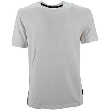 Vêtements Homme T-shirts manches courtes Armani 8N1M8A 1JCDZ T-shirt Homme blanc blanc