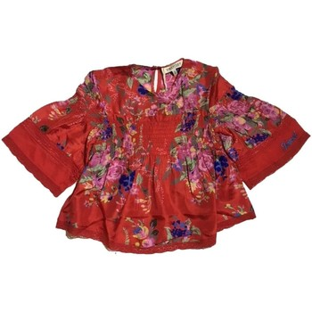 Vêtements Fille Tops / Blouses Twin Set GS82E3 pull-over fille Rouge Rouge