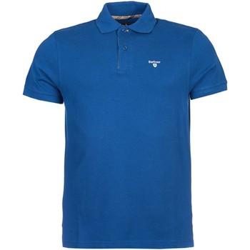 Vêtements Homme Polos manches courtes Barbour BAPOL0119 polo Homme Bleu électrique Bleu électrique
