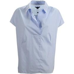 Vêtements Femme Chemises / Chemisiers Woolrich WWCAM0663 chemise Femme Céleste Céleste