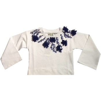Vêtements Fille Sweats Twin Set GS82JA 1 sweat-shirt fille blanc blanc