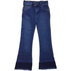 Vêtements Fille Jeans bootcut Twin Set GS82M3 1 jeans fille bleu bleu