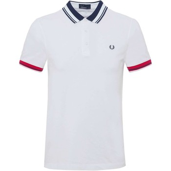 Vêtements Homme Polos manches courtes Fred Perry M3503 polo Homme blanc blanc