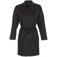 Vêtements Femme Manteaux Benetton MARBELLO Noir