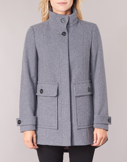 MARTINO  Benetton  manteaux  femme  gris