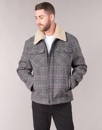 Vêtements Homme Manteaux Benetton MADRILA Gris