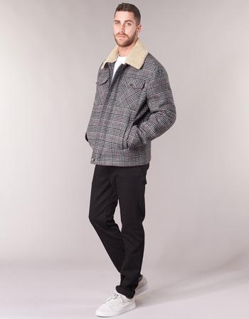 Madrila Manteaux Gris Benetton Vêtements Homme 7IYfbgy6vm