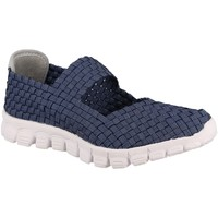 Chaussures Femme Baskets basses Coco & Abricot V0887B Marine