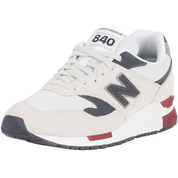 Chaussures Homme Baskets basses New Balance Homme 840 Baskets en daim, Blanc blanc