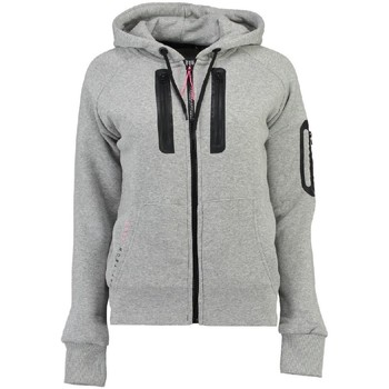 Vêtements Femme Sweats Geographical Norway Sweat Femme Fabricot Gris Clair