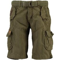 Vêtements Homme Shorts / Bermudas Geographical Norway Bermuda Homme Pouvoir Marron