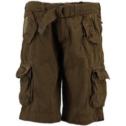 Vêtements Homme Shorts / Bermudas Geographical Norway Bermuda Homme Pouvoir Kaki