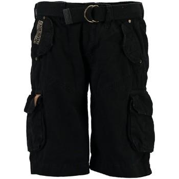 Vêtements Homme Shorts / Bermudas Geographical Norway Bermuda Homme Pouvoir Noir
