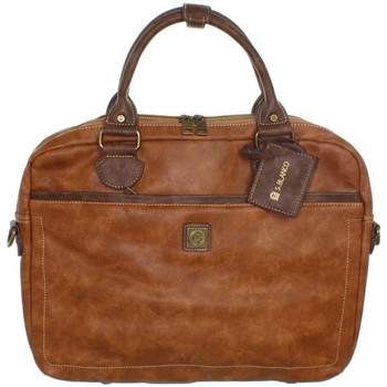 Sacs Porte-Documents / Serviettes Serge Blanco Serviette  ref_tnt43341 Cognac 43*34*7 marron