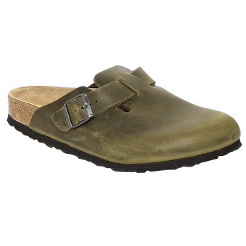 Chaussures Sabots Birkenstock BOSTON Kaki