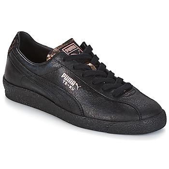 103ae16ff054 Chaussures Femme Baskets basses Puma WN TE-KU ARTICA.BLACK-BLAC BLACK