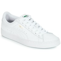 65a3d121da8cf Chaussures Baskets basses Puma BASKET CLASSIC LFS.WHT Blanc