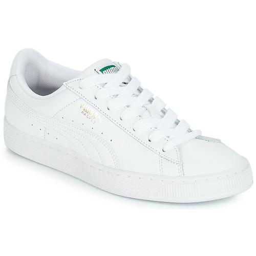 puma classic blanc