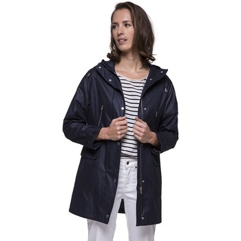 Vêtements Femme Parkas Trench And Coat Parka marine en Coton majoritaire BOUTIC Bleu marine