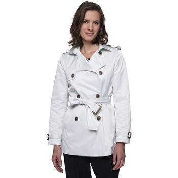 Vêtements Femme Trenchs Trench And Coat Trench court en polyester et coton ATHNEY Vert clair