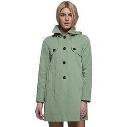 Vêtements Femme Manteaux Trench And Coat Manteau esprit riding à capuche Vert