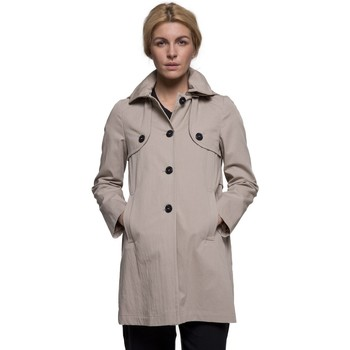 Vêtements Femme Manteaux Trench And Coat Manteau esprit riding à capuche Beige