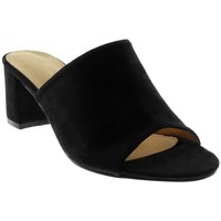 Chaussures Femme Claquettes Catisa Angkorly - Sandale Mule slip-on - moderne Noir