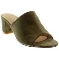 Chaussures Femme Claquettes Catisa Angkorly - Sandale Mule slip-on - moderne Vert