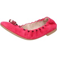 Chaussures Femme Ballerines / babies Bally ballerines rose fucsia daim BY28 rose