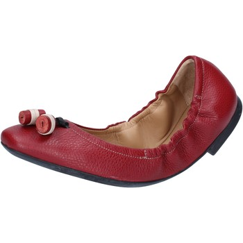 Chaussures Femme Ballerines / babies Bally ballerines rouge cuir BY33 rouge