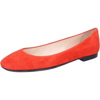 Chaussures Femme Ballerines / babies Bally chaussures femme  ballerines orange daim BY35 orange