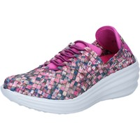 Chaussures Femme Baskets mode Pregunta sneakers multicolor textile BY73 multicolor