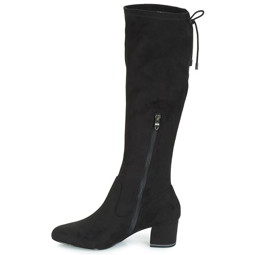 Pedas Cuissardes Tamaris Femme Chaussures Noir mN08nvw