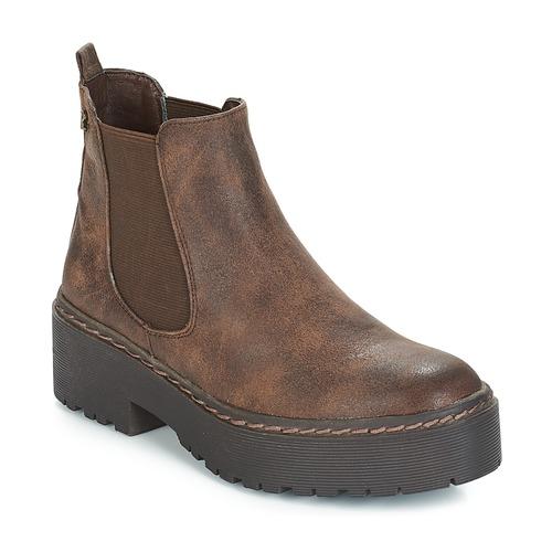 Marron Boots Femme Sobao Refresh Sobao Femme Refresh Marron Boots zUMSpV
