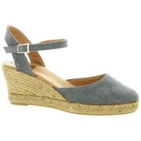 Chaussures Femme Espadrilles Pao Espadrille toile Gris