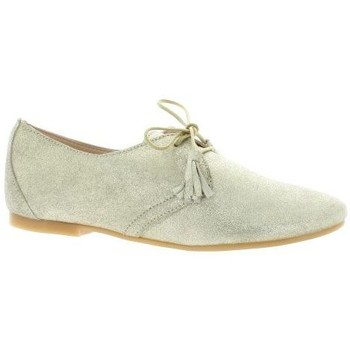 Chaussures Femme Derbies So Send Derby cuir laminé Or
