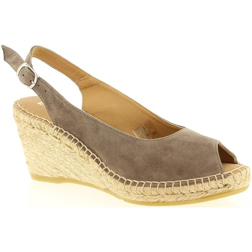Emma 15173 Taupe - Chaussures Sandale Femme